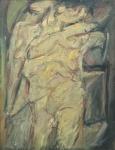 Claudio Olivieri, 1957, ST, olio su tela, 100x80cm