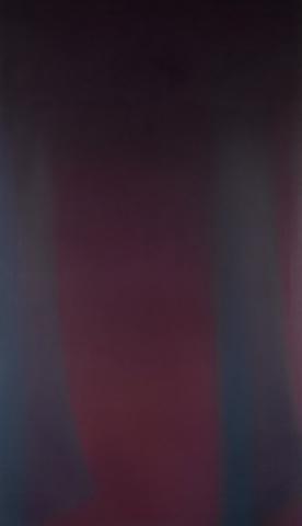 Claudio Olivieri, 1981, Biferno, olio su tela, 260x150cm