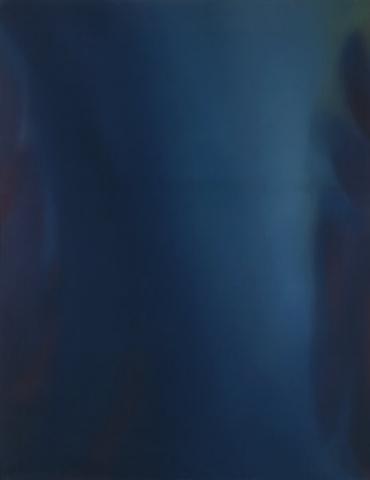 Claudio Olivieri, 1983, Magog, olio su tela, 260x200cm