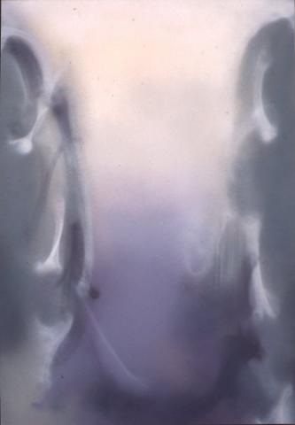 Claudio Olivieri, 1992, Scaturigine, olio su tela, 230x160cm