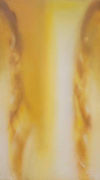 Claudio Olivieri, 2009, Aureo, olio su tela, 220x130cm